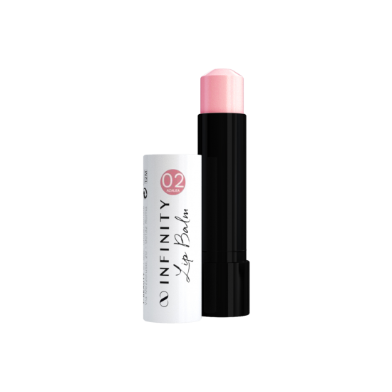 LIP BALM 02 Azalea Pale Pink 5ml  - 1